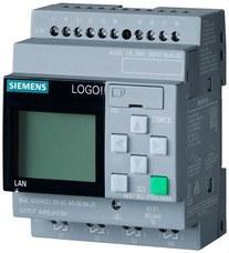 SIEMENS 6ED1052-1FB08-0BA0 Módulo lógico LOGO! 230RCE, display AL/E/S: 115V/230V/relé, 8 ED/4 SD, memoria 400 bloques