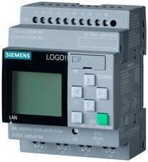 SIEMENS 6ED1052-1MD08-0BA0 Módulo lógico LOGO! 12/24RCE, disp AL/E/S: 12/24VDC/relé, 8ED (4EA)/4SD, memoria 400 bloque