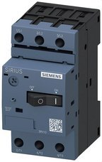 SIEMENS 3RV1011-0JA10 Interruptor automático 3RV1 S00 1A regulación 1