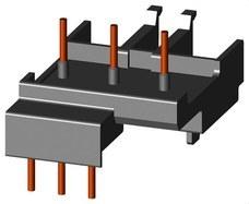 SIEMENS 3RA1921-1DA00 Bloque de conexión eléctrico y mecánico CA/CC S0