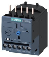 SIEMENS 3RB3016-1PB0 RELE TERMICO ELECTRONICO 3RB3 1-4A S00 CL.10 TORN.