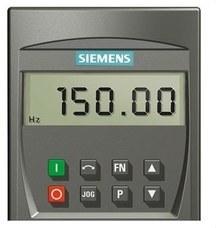 SIEMENS 6SE6400-0BP00-0AA1 PANEL OPERADOR BASICO