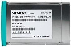 SIEMENS 6ES7952-1AH00-0AA0 Tarjeta de memoria S7-400 RAM media caña 952 256Kbytes