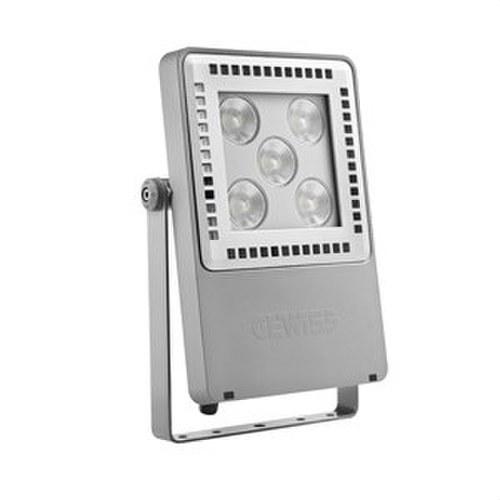Luminaria Smart [4] 2.0 fluorescente 5L 4000K 100º gris