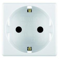 GEWISS GW20265 Base 2P+T 16A 250V AC 2 módulos norma española blanco