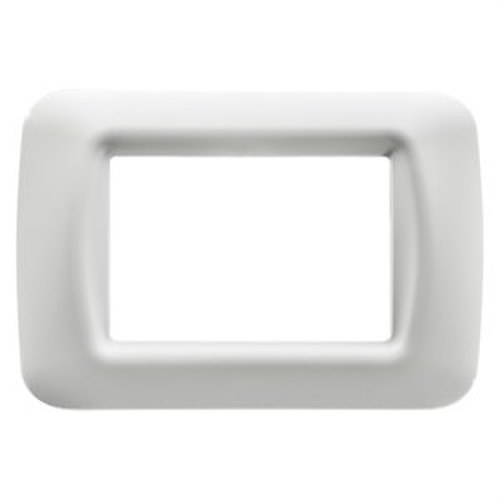 Placa 3 modulo blanco nube top System