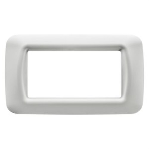 Placa 4 modulo blanco nube top System