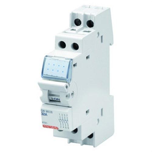 Interruptor seccionador 2 polos 415V 32A 1 módulo