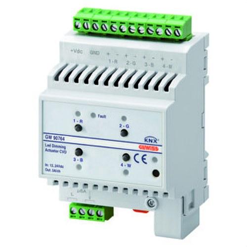 Accionador dimmer para led-V KNX 4 canales