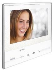BTICINO 344642 Monitor manos libres C300X13E con 2 hilos en color claro L3000
