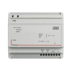 BTICINO 346050 Alimentador con adaptador de vídeo 2 hilos 6DIN