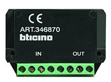 BTICINO 346870 Amplificador sistema 2 hilos SFERA
