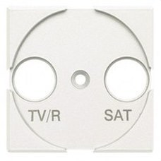 BTICINO HD4212 FRONTAL TV/R-SAT 2 MODULO BLANCO