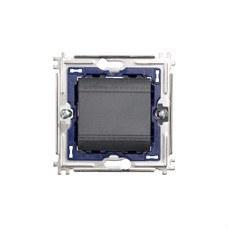 BTICINO L4005M2A Pulsador 1 polo NO 10A con 2 módulos LIVING en color antracita
