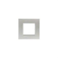 BTICINO LNA4802TE Placa Livinglight 2 módulos tech