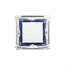 BTICINO N4004M2N Cruzamiento 1P 16A con 2 módulos en color blanco