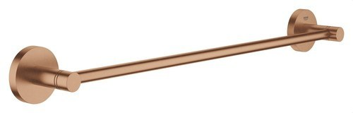 Toallero 504mm Essentials longitud 450 sol cepillado