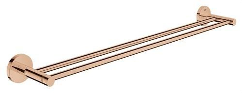 Toallero doble 654mm Essentials longitud 600 sol