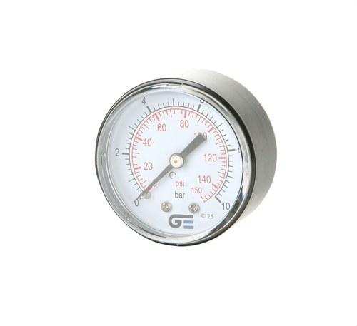 Manómetro diámetro 53 0-6 M-1/4 salida posterior ABS