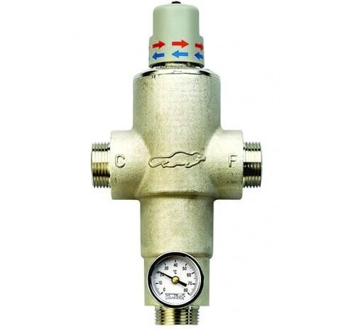 Mezclador termostático 1 sistema ahorro energía