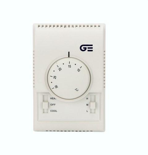 Termostato electrónico oscilante modular con selector empotrar