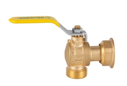 Válvula escuadra para gas M-H tuerca deslizante 3/4 latón