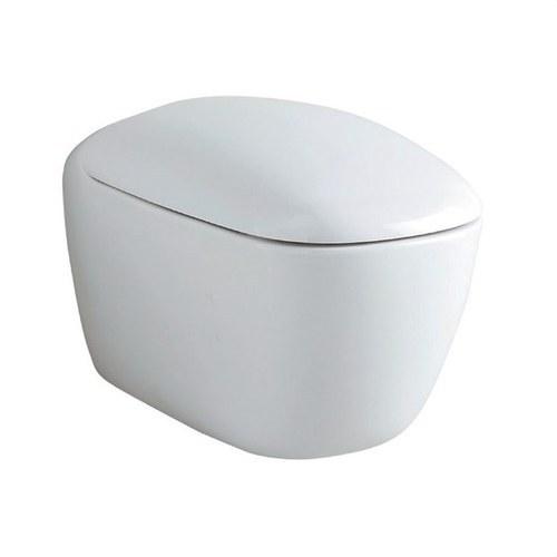 Asiento con tapa inodoro Citterio blanco