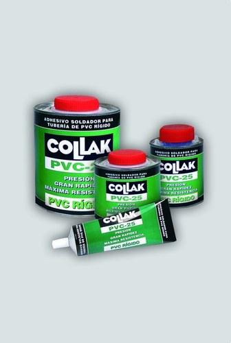 Adhesivo soldadura P.V.C.-25 pincel 500ml