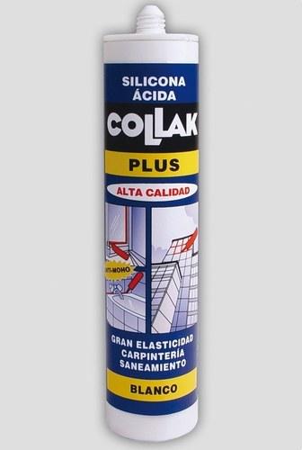 Silicona acida S-11E translucido 300ml