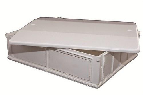 Caja de colector para instalaciones sanitarias 240x500x80mm