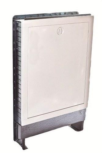 Caja de colector de calefacción 60x71x11cm (4-6 circuitos)