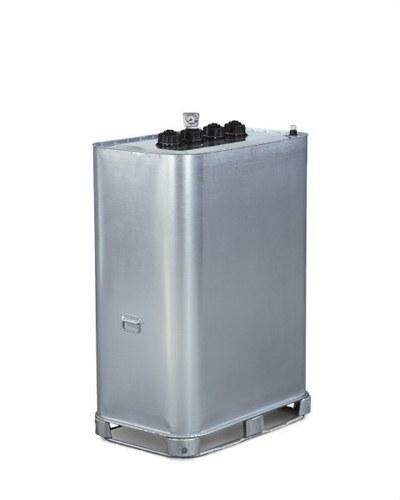 Depósito 1135x757mm 1000l plástico acero