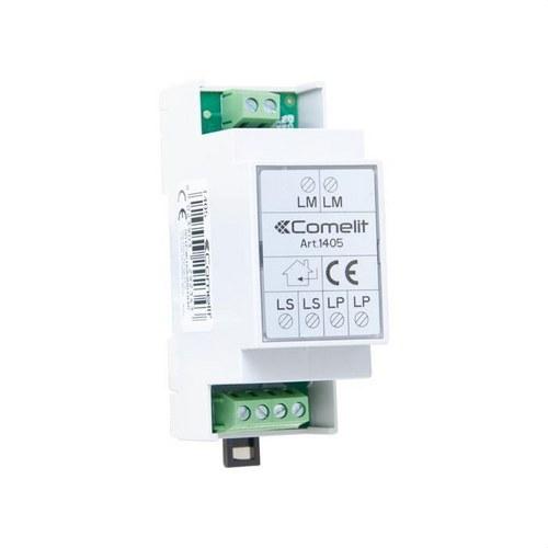 Conmutador digital para instalación 2 entradas sistema 2 hilos