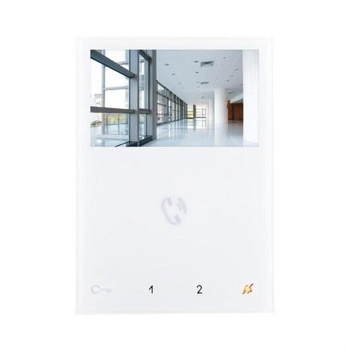 Monitor MINI color manos libres SBTOP blanco