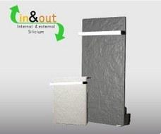 CLIMASTAR BS08CLT Toallero Silicium Touch 80W vertical blanco silicio 100x50cm 2 barras curvas