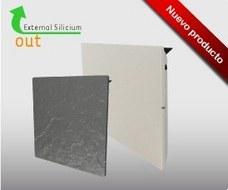 CLIMASTAR BS08VESP Radiador SMART PRO cuadrado 80W 100x50x70cm blanco silicio