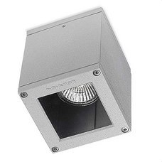 LEDS-C4 15-9480-34-37 Plafón AFRODITA GU10 50W led 5W gris