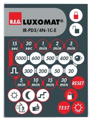 Mando a distancia IR-PD3/4N-1C-E