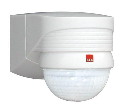 Detector de movimiento LC-Plus 280 para exterior blanco