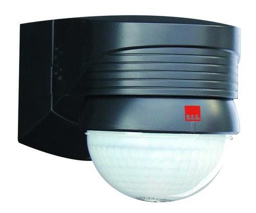 Detector de movimiento LC-Plus 280 para exterior negro