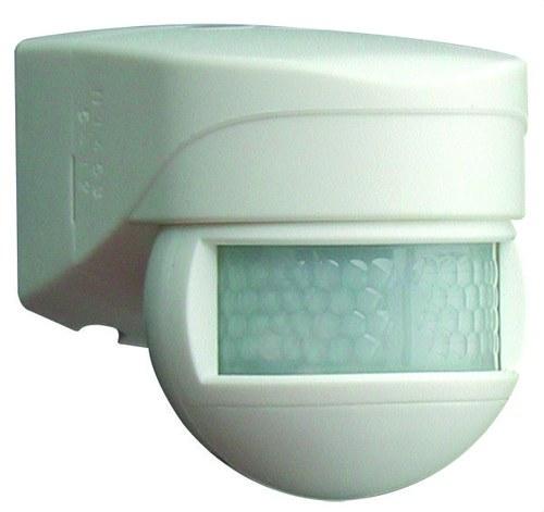 Detector de movimiento LC-Mini 180 para exterior blanco