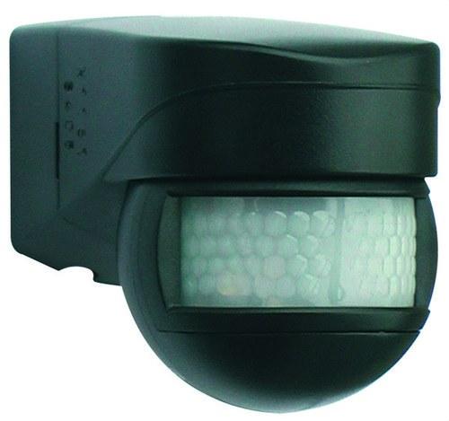 Detector de movimiento LC-Mini 180 para exterior negro