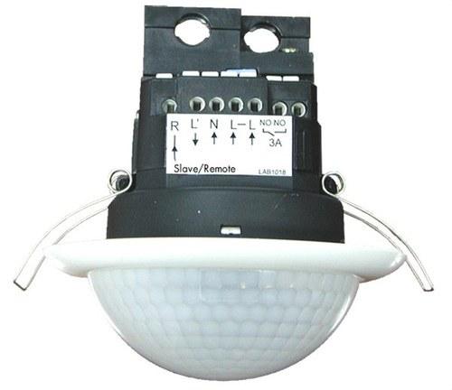 Detector de presencia Master PD4-M-2C-FT 2 canales blanco