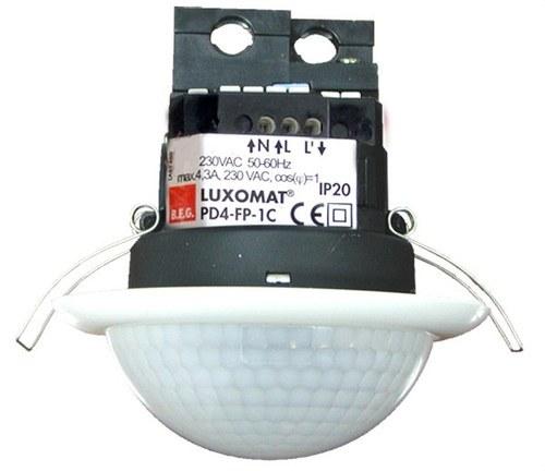 Detector de movimiento PD4N-1C-FT 1 canal para techo blanco