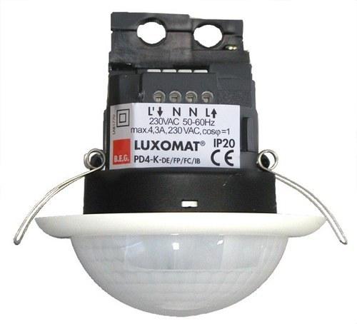 Detector de movimiento PD4N-1C-C-FT para techo blanco