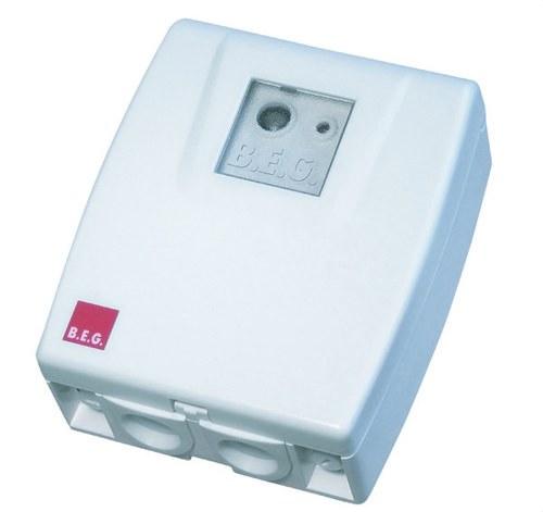 Interruptor crepuscular CDS-SU blanco