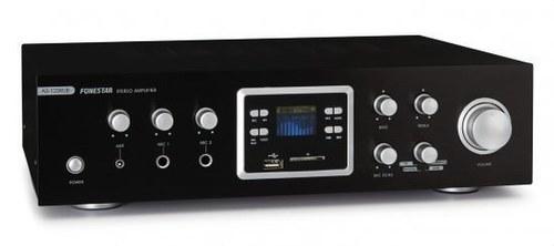 AMPLIFICADOR 2X60W FM USB BT