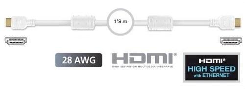 CONEXION HDMI 1.8M BLANCO