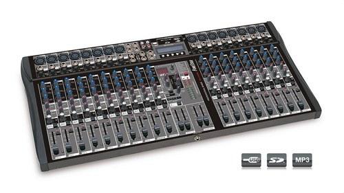 MEZCLADOR 20 CANALES USB