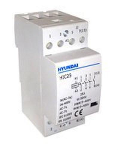 Contactor modular HIC 4NO CA 25A 50Hz 230V